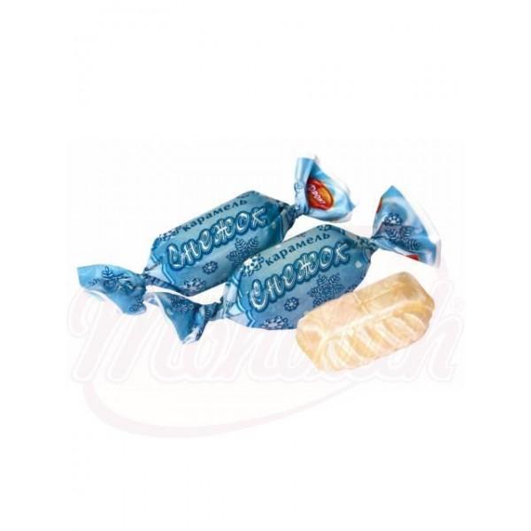 Caramelo duro Sneschok con sabor a limón 100 g - Rusia