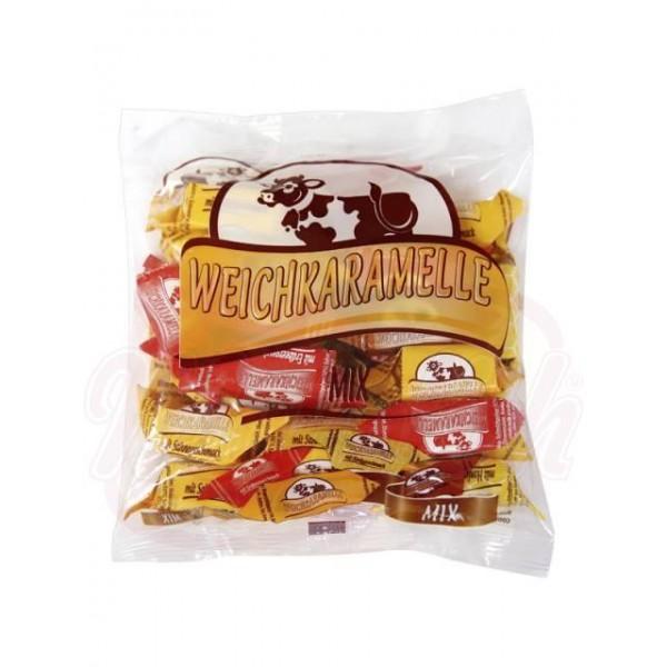Caramelos blandos Korovka MIX 300 g - Polonia