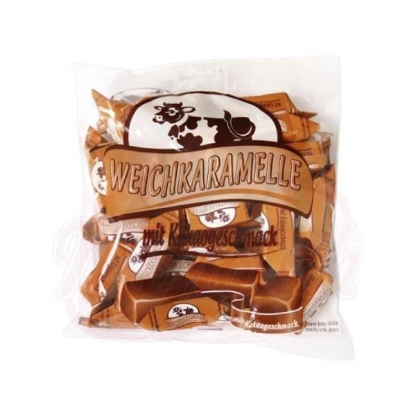 Caramelos blandos sabor cacao 300 g - Polonia