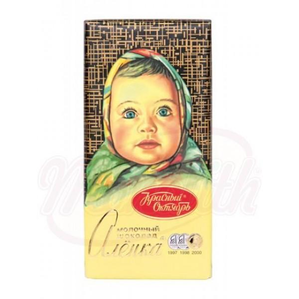 Молочный шоколад Алёнкa 100 g - Россия
