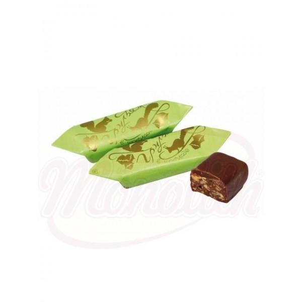 Конфеты Грильяж в шоколаде 100 g - Россия