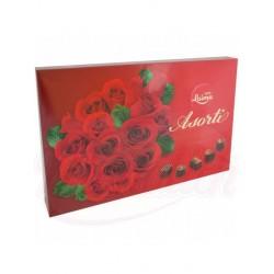 Шоколадные конфеты ассорти Красные розы 470 g