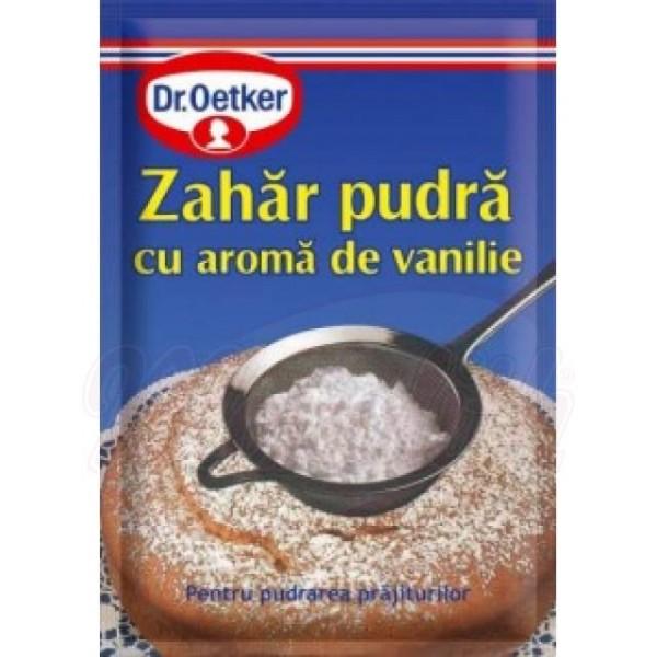 Azucar glas con aroma de vainilla Dr.Oetker 80g - Rumanía