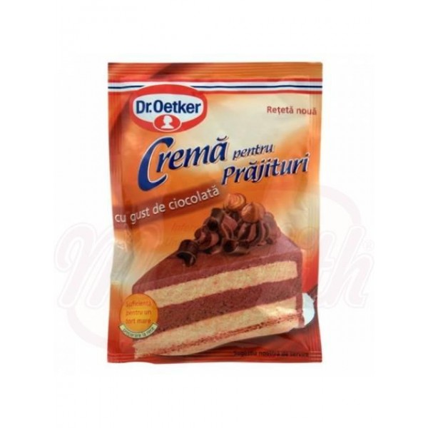 Crema para tartas de chocolate Dr.Oetker 55g - Otros