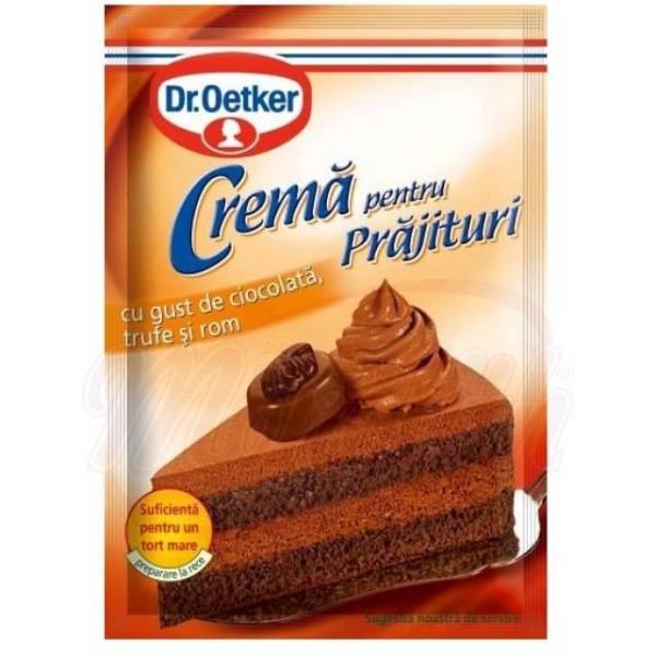 Crema para tartas de trufa con ron Dr.Oetker 57g - Otros
