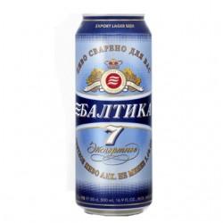Cerveza Nº7 Baltika 5,4% 0,5 L