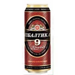 Cerveza Baltika №9  8,0% 0,5 L