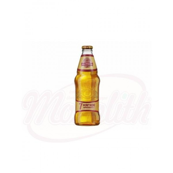 Cerveza Baltika Nº7 Miagkoe 4,7 0,44l - Rusia