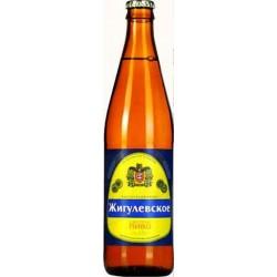 """Cerveza """"Zhigulyovskoye"""" Ochakovo 4,0% 0,5 L"""