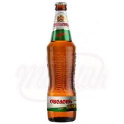 Cerveza rubia  Obolon Lager 5,0% alc. 0,5 L