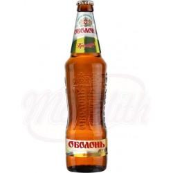 Cerveza rubia  Obolon Premium pasteurizada 5,0% alc.  0,5 L