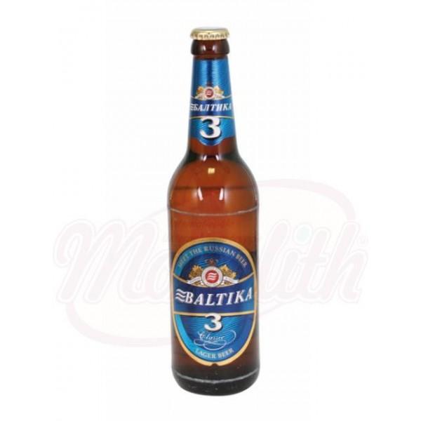 Пиво Балтика №3  4,8 алк. - Россия