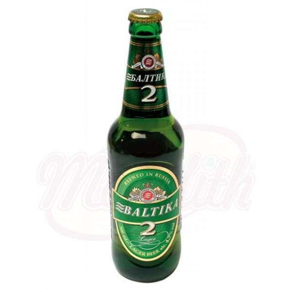 """Cerveza """"Baltika"""" Nr. 2, 4,7 vol. - Rusia"""