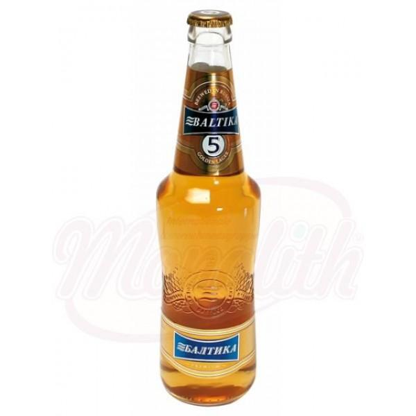 Пиво Балтика  №5, 5,3 алк. 0,47 L - Россия