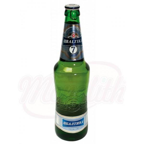 Cerveza Baltika Nr. 7, 5,4 vol. 0,47 L - Rusia
