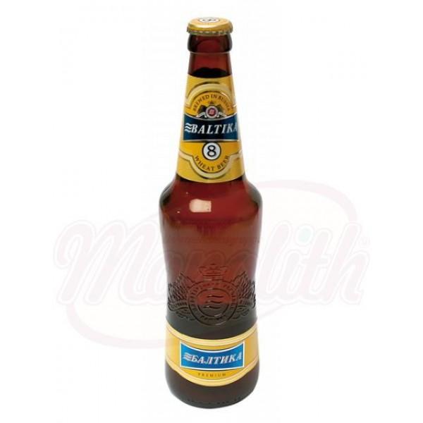 Cerveza Baltika Nr.8, 5,0 vol.  0,47 L - Rusia