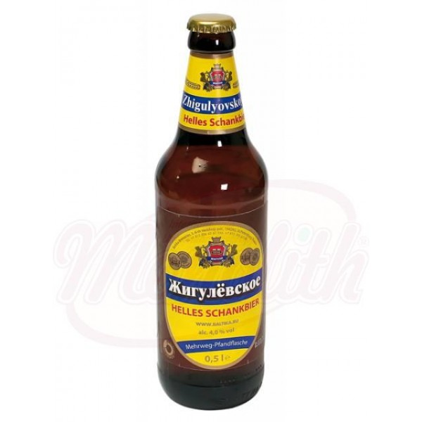 Cerveza Zhigulyovskoye  4,0 vol. Baltika  0,47 L - Rusia