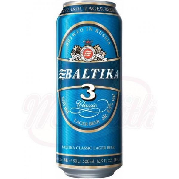 """Пиво """"БалтикаNr. 3, 4,8 vol. 0,45 L - Германия"""