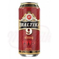 Пиво светлое Балтика Крепкое №9, 8,0% алк.   0,9 L