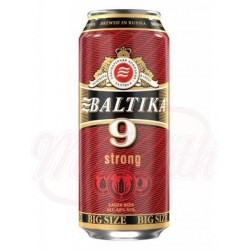 Cerveza clara Baltika N-9  0,9 L   8,0% alc