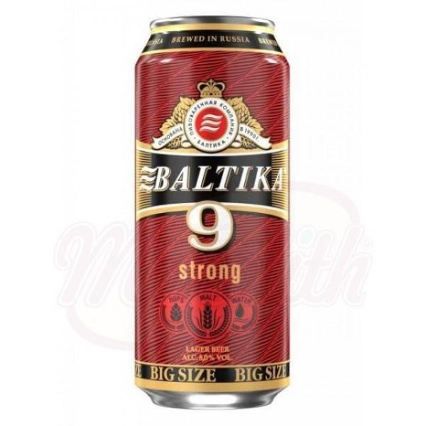 Cerveza clara Baltika N-9  0,9 L   8,0 alc - Rusia