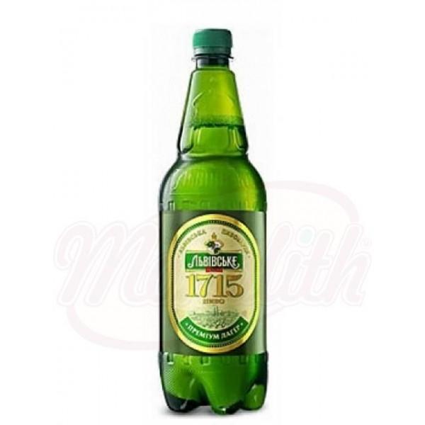 Cerveza  Lvovskoe  1715 4,2  1.5l - Ucrania