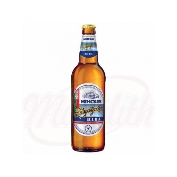 Cerveza Zhigulevskoe Minskoe Lvovskoe 5,0 0,5 L - Ucrania