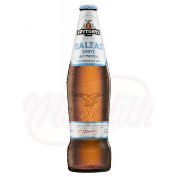 Cerveza  Svyturys Baltas  White, 5,0 vol.  0,5 L - Lituania
