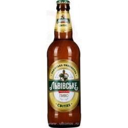 "Cerveza clara "" Lvovskoe""  4,5%  0,5 L"