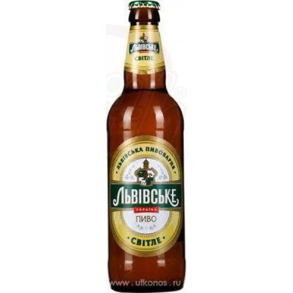 Cerveza clara  Lvovskoe  4,5  0,5 L - Ucrania