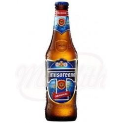 Пиво светлое TIMISOREANA   5% Алк.  0,33 L