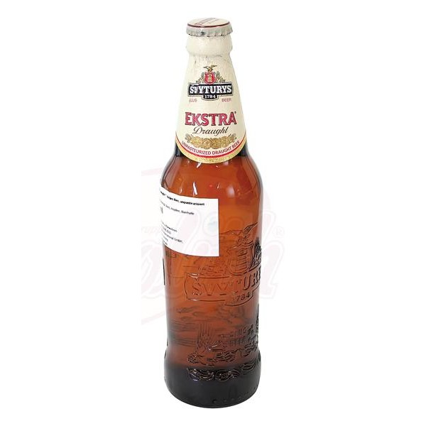 Cerveza clara, sin pasteurizar Svyturys Extra Draught  5,2 en vol. 0,5 L - Lituania
