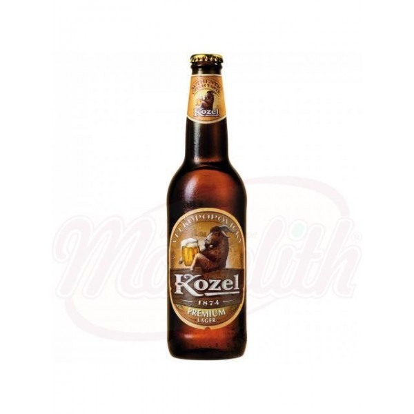 "Cerveza clara ""Kozel Premium""  4,6  vol. 0,5 L - Chequia"