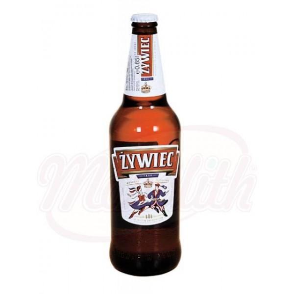 Cerveza clara Zywiec  5,6 0,5 L - Polonia