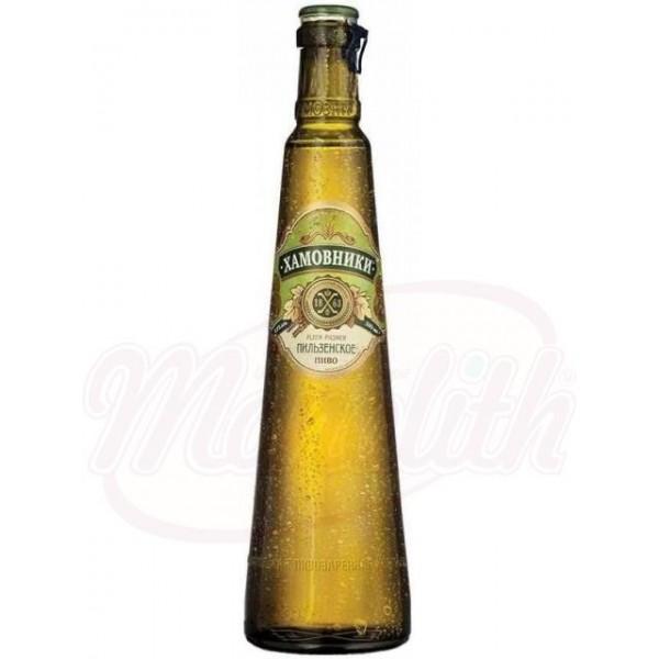 Cerveza Khamovniki Pilsener  4,8% vol. 0,47 L - Rusia