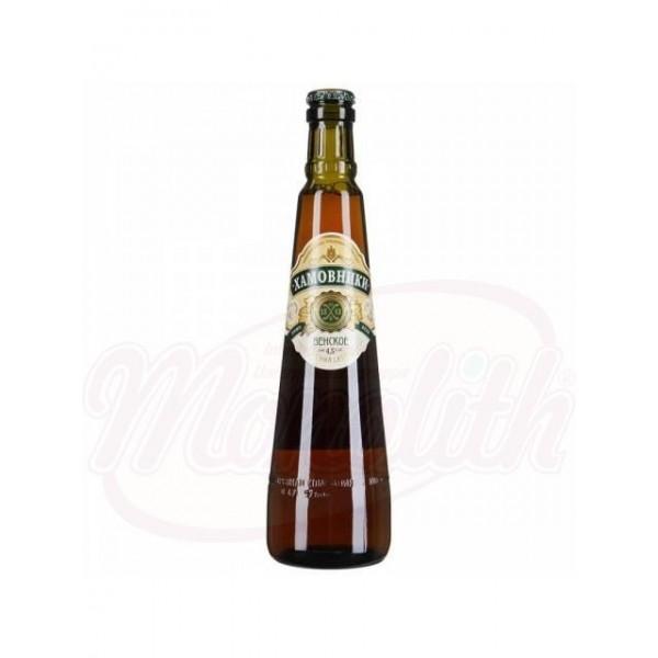 Cerveza Khamovniki Vienesa 4,5 vol 0,47 L - Rusia