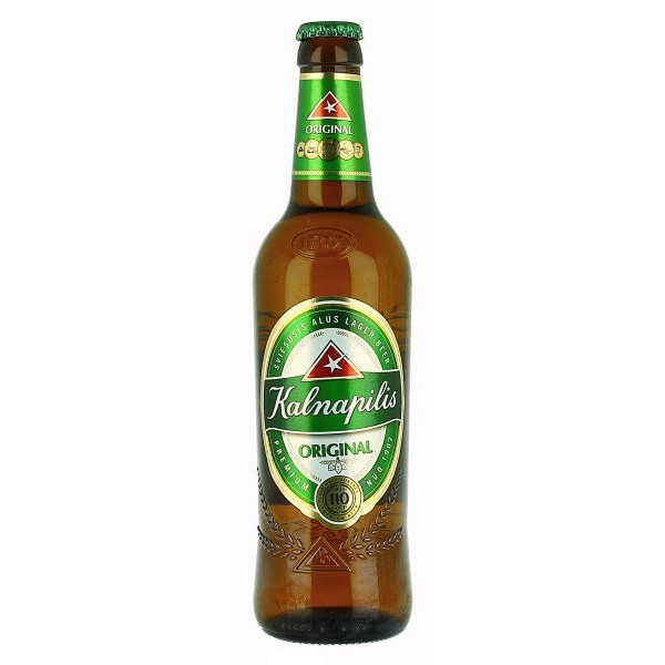 Cerveza Kalnapilis Original 5,0 0,5 L - Lituania