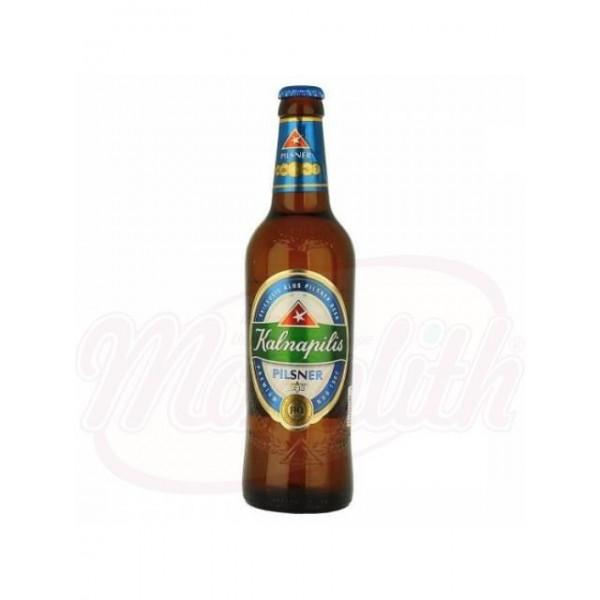 "Cerveza ""Kalnapilis"" Pilsener 4,6  0,5 LL - Lituania"