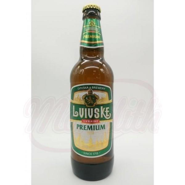 Cerveza  Lvivske Premium 4,0 vol.  0,5 L - Ucrania