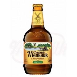 Cerveza de barril clara Stariy Melnik 5,0% alc.  0,5 L