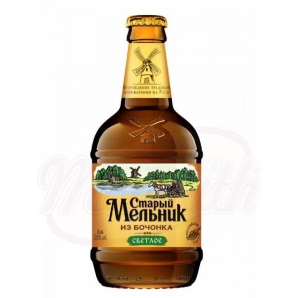 Cerveza de barril clara Stariy Melnik 5,0 alc.  0,5 L - Rusia