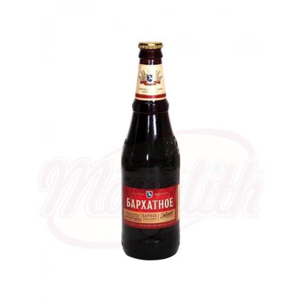 "Cerveza oscura ""Zhiguli Barnoe Barjatnoe""4  0,5 L - Rusia"