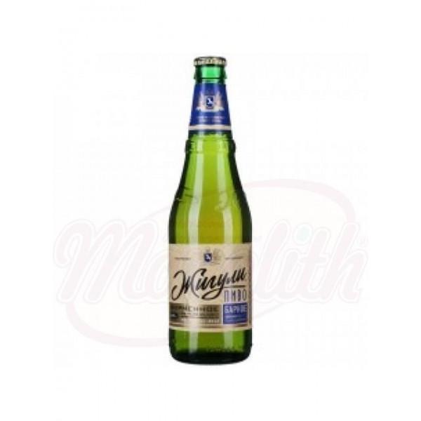 """Cerveza """"Shiguli Barnoe"""" 4,9 0,9 L - Rusia"""