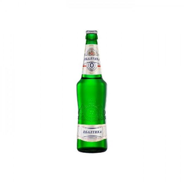Cerveza Sin Alcohol Baltika Nº0 0,5 vol. 0,47 L - Rusia