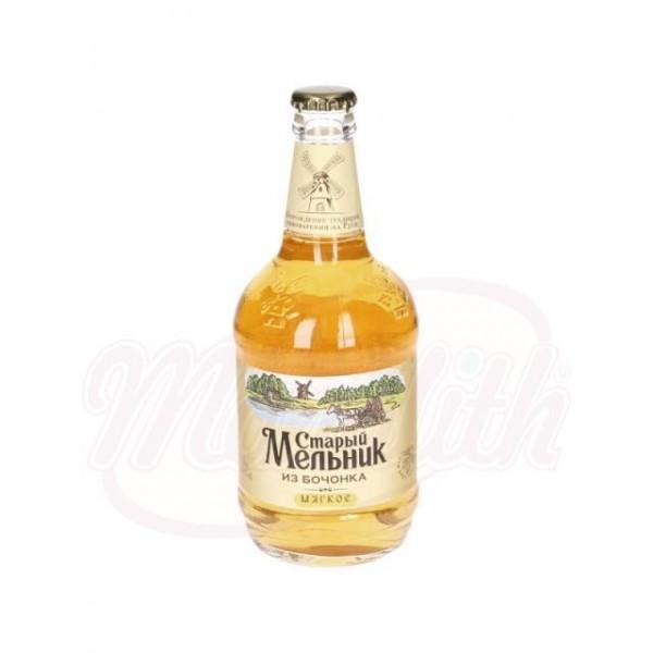 Cerveza Stariy Melnik de barril suave 4,3  de alc.  0,45 L - Rusia