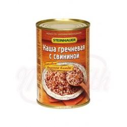 Каша гречневая с свининой 400g