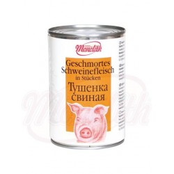 Carne de cerdo estofada Tushenka 400 g