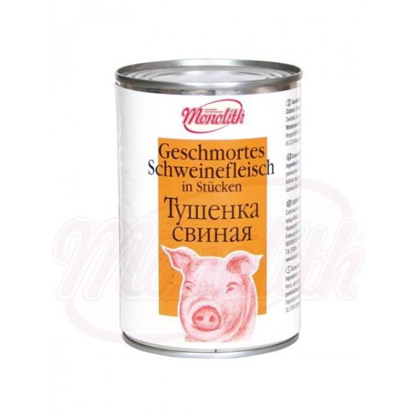 Тушёнка свиная 400 g - Франция