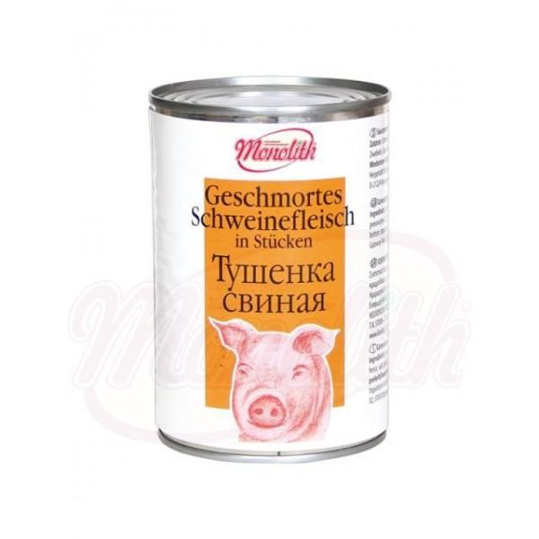 Carne de cerdo estofada Tushenka 400 g - Francia