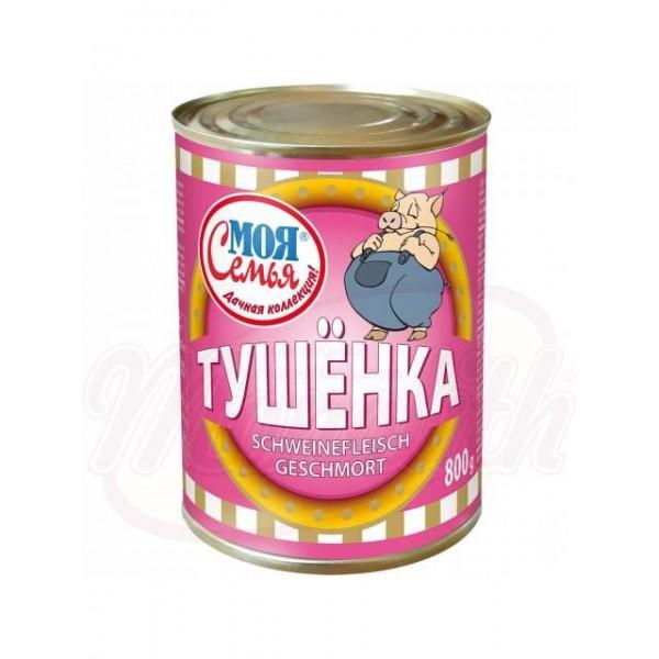 Carne de cerdo guisada 800g. - Polonia